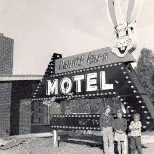 Rabbit ears motel steamboat springs colorado iconic lodging downtown yampa HISTORY - Home