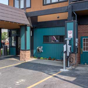 Rabbit ears motel steamboat electric vehicle charging station - Home